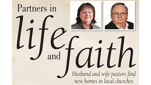 Husband and wife pastors find new homes in local churches